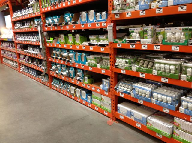 Net Lights Home Depot: Light Emitting Diode From Space Lol