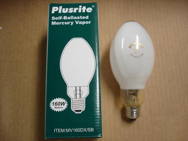 hid lamps mercury vapour plusrite self ballasted mercury vapour. Black Bedroom Furniture Sets. Home Design Ideas