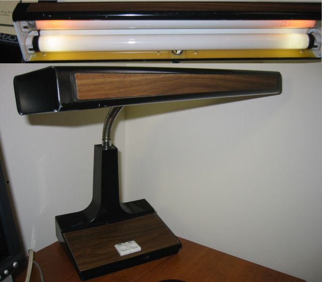 Lighting Gallery Net Fluorescent Desk Lamp