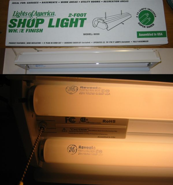 Lighting Gallery Net Fluorescentlights Of America 2 Shoplight