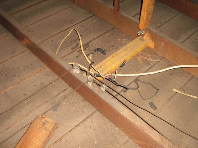 lighting gallery net projects old attic wiringold attic wiring