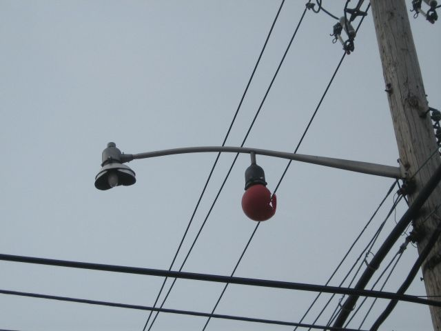 I Thought It Was Interesting Because Of Both The Admiral Hat Reflector And  The Red Call Box Light.