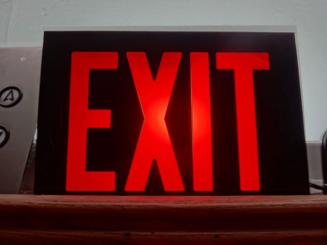 Lighting Gallery Net My Exit Signs Lithonia Preheat