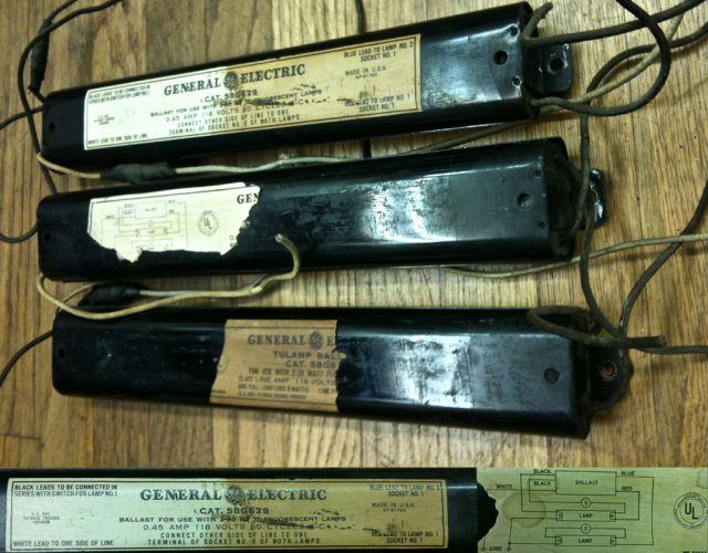 old tulamp f20t12 preheat ballasts