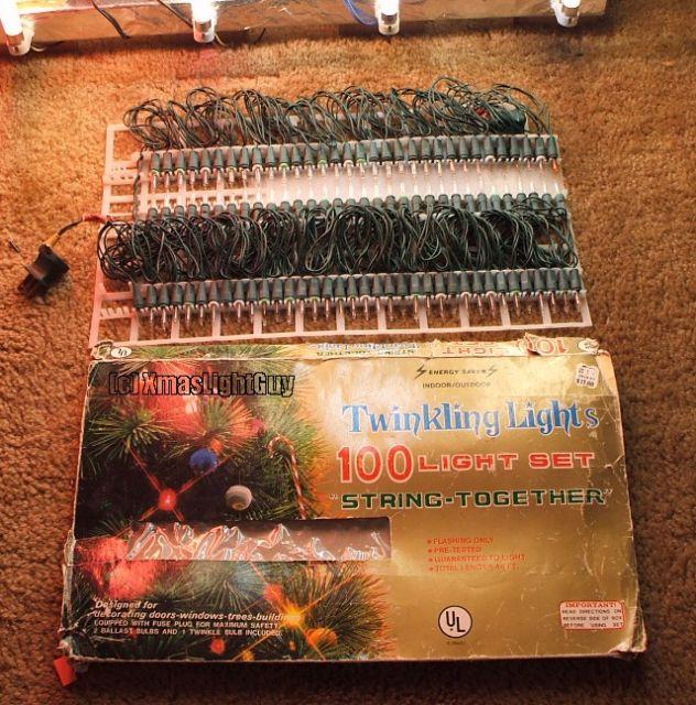 100 mini random twinkle lights - Random Twinkle Christmas Lights