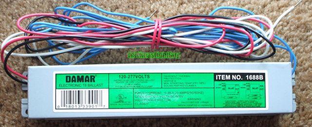 Lighting-Gallery-net - Fluorescent Ballasts - Electronic