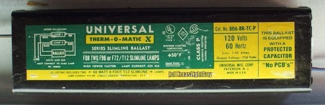 Lighting Gallery Net Fluorescent Ballasts