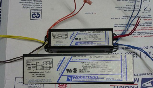 Lighting Gallery net Fluorescent ballasts F15 T8 T12