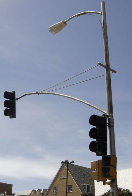 lighting gallery net traffic signals more wire signal poles
