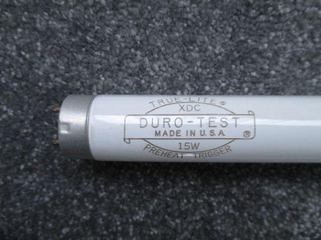 Fluorescent Lamps 15w T8 Duro Test