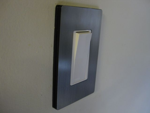 Lighting-Gallery-net - Home projects/American light switch, in Australia