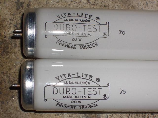 Fluorescent S Duro Test Vita Lite