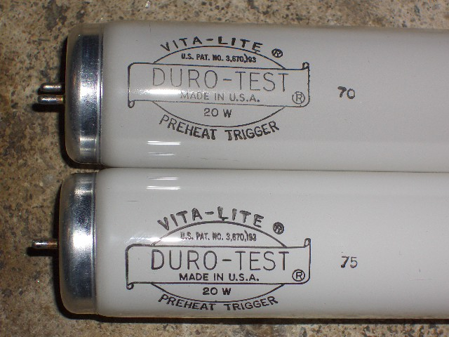 Lighting Gallery Net Fluorescent S Duro Test Vita Lite