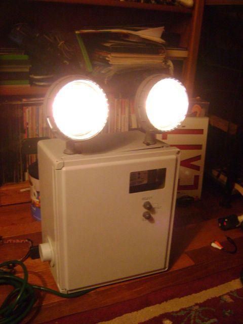 Lighting Gallery Net My Emergency Light Collection 2010