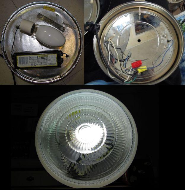 lighting gallery net hid lamps fixtures mercury vapor glass drum. Black Bedroom Furniture Sets. Home Design Ideas
