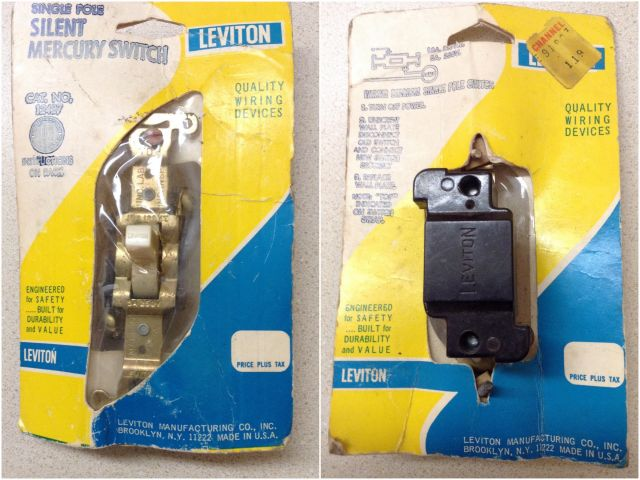 Lighting-Gallery-net - Sockets, Electrical & Misc./Vintage Leviton ...