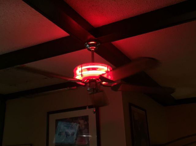 Lighting gallery net specialty fluorescentneon ceiling fan at click to view full size image aloadofball Choice Image