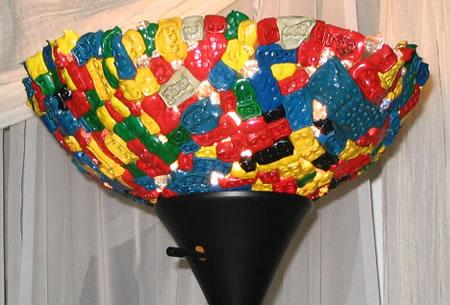 Melt Lego Lamp Bowl