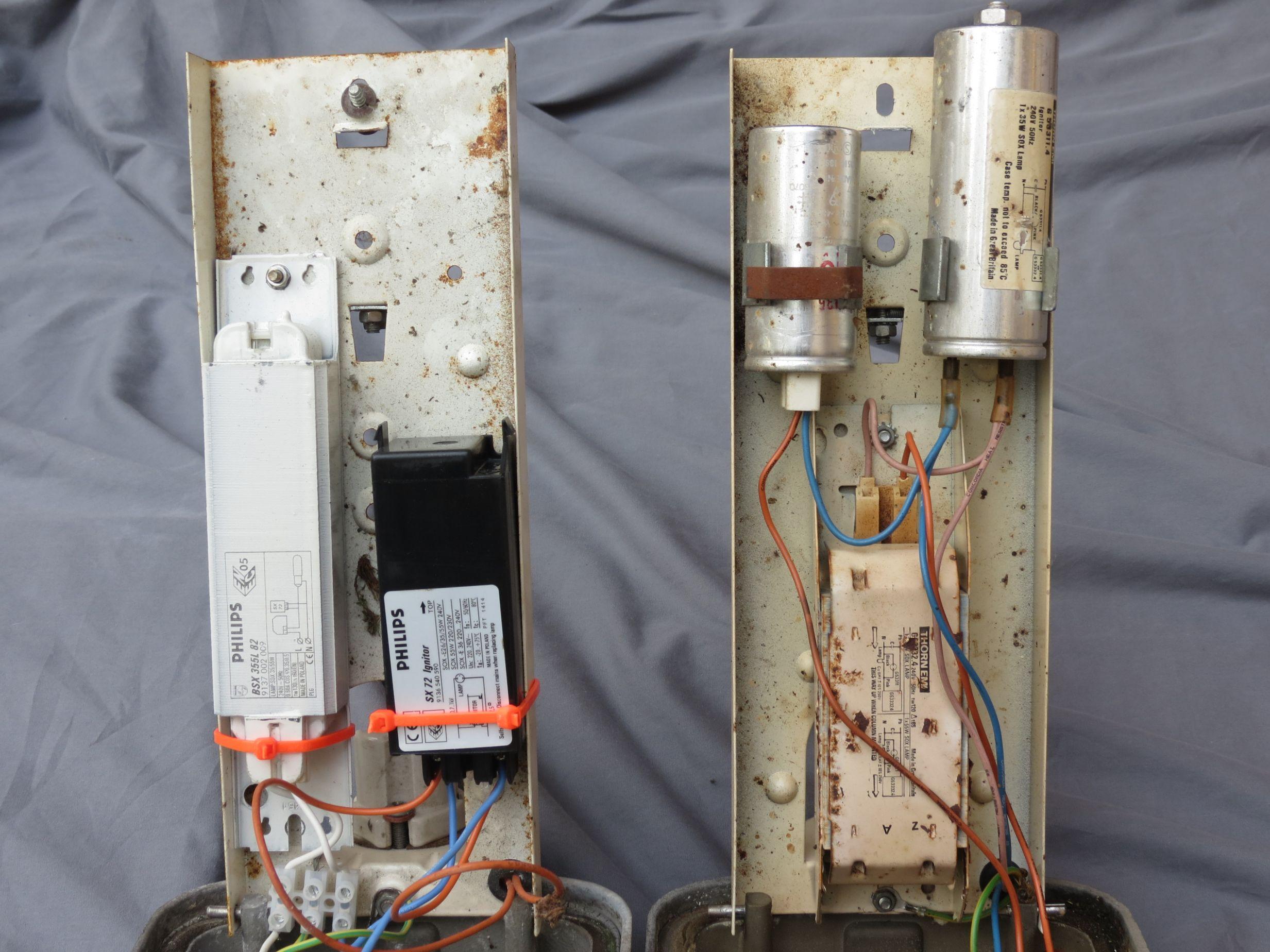 running 50hz ballast on 60hz supply